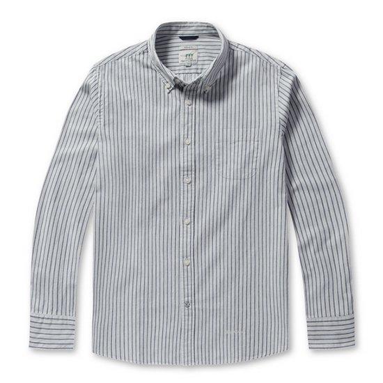 Henry Cotton's  더블 S/T 코튼 셔츠 AHSAW17742WHX