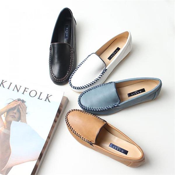 [하프클럽/bellanoi]로렌 콜프 여성로퍼 구두 단화 신발 2cm