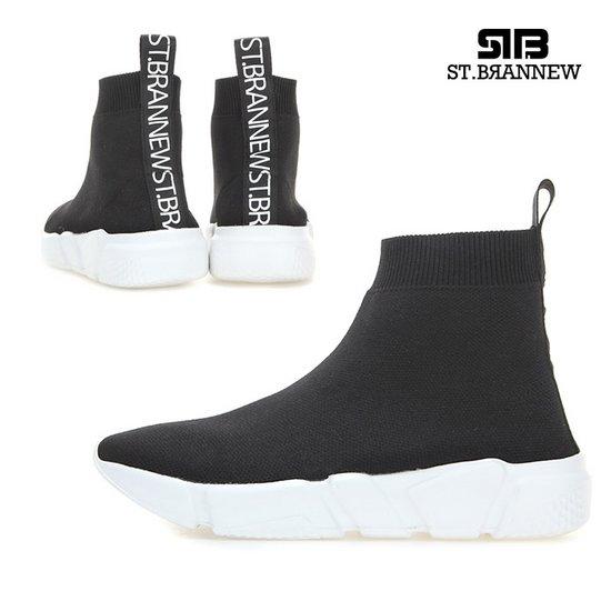 [ST.BRANNEW][3일배송]Socks Sneakers Abel_STKS90036_4cm