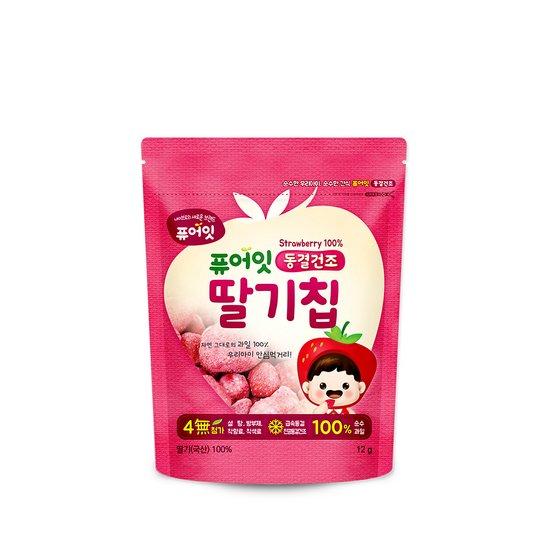 퓨어잇 동결건조 딸기칩