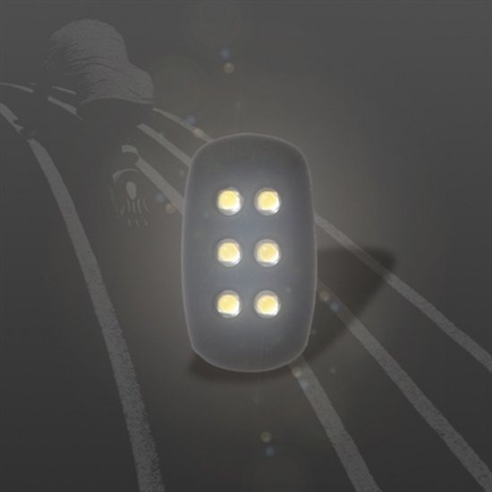[펀샵X천리마특가]hexa Flicker 자가발전 조깅 LED 라이트