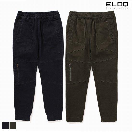 ELOQ 남성 배기핏 절개포인트 조거팬츠B166MPT127M