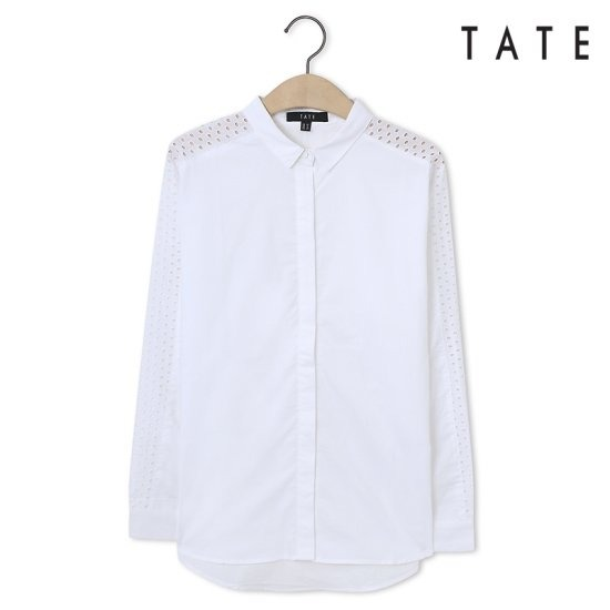 테이트  여성 펀칭 셔츠 KA5F7WRC070110