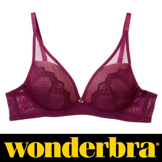 [사은품][Wonderbra]원더브라노와이어퍼플브라 WBWBR7G49T