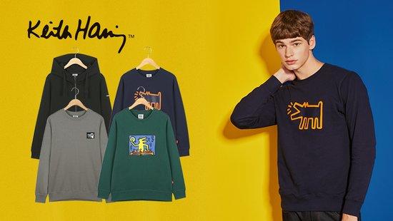 [Keith Haring]스트릿 아트 컬렉션 패키지 남성 4종