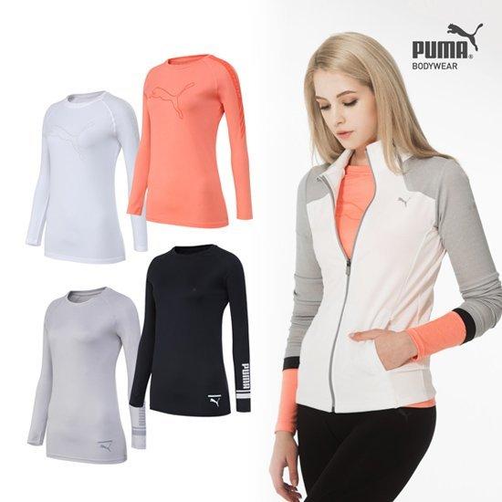[오플]푸마 에어스킨 기능성 셔츠 4종_여성