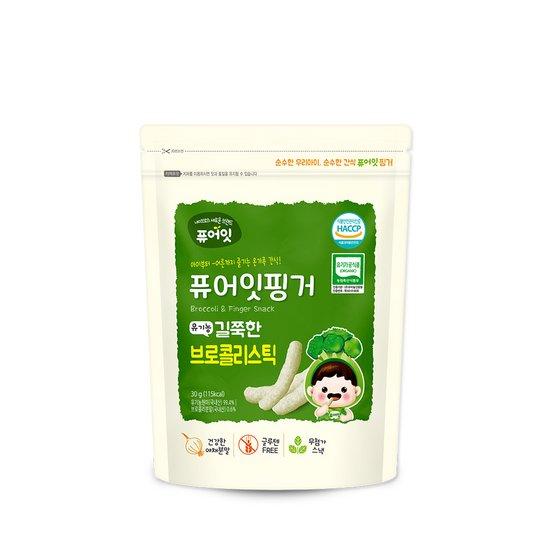 퓨어잇핑거 유기농 길쭉한 브로콜리스틱