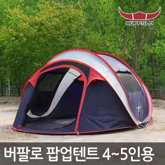 버팔로 텐트 메가 원터치텐트/팝업텐트 4~5인용