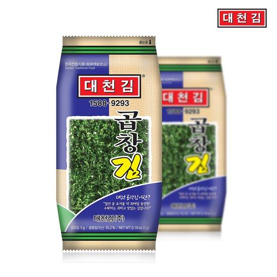 대천김 곱창김 도시락김 5g x 32봉