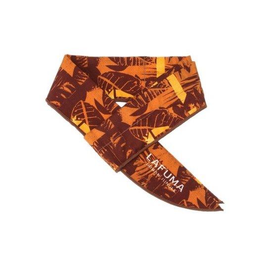 라푸마 남성 오렌지 패턴 넥쿨러 LESC8G201O2