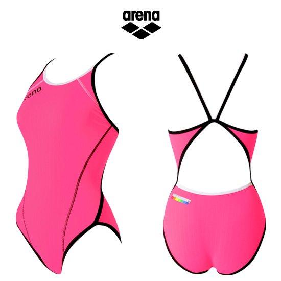 아레나 여성 수입 원피스 수영복연습복 AUFIL39PNK