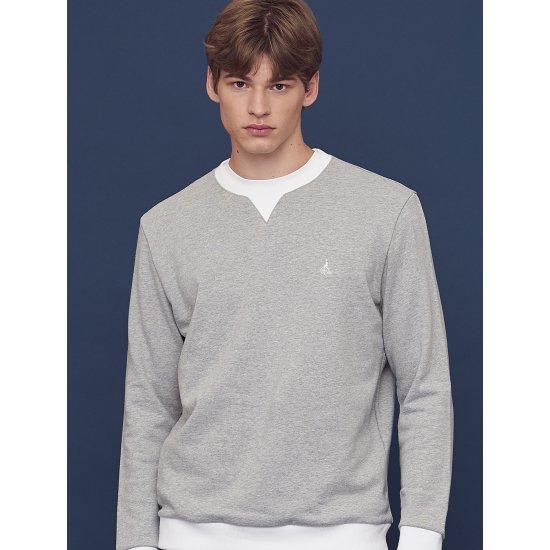 빈폴  그레이 스웨트 셔츠 BC8741N013