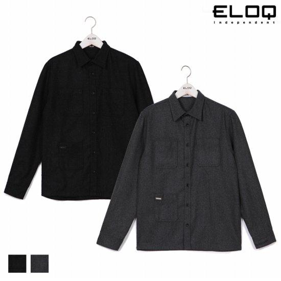 ELOQ 남성 셔츠칼라 울자켓B168MJP121M