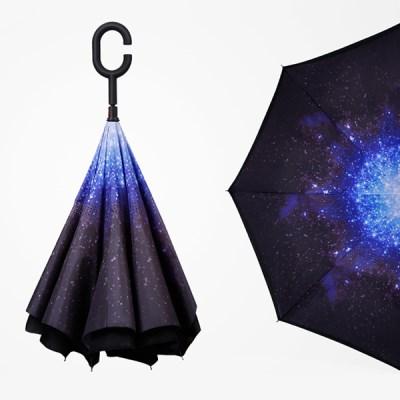 텐바이텐 갓샵 갓샵 거꾸로우산 2종 꺼꾸로 반전 리버스 반대로접는우산