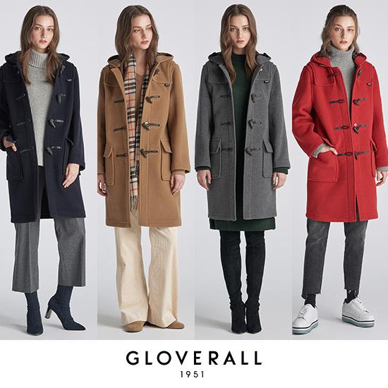 [시즌오프]Gloverall Morris모리스 Duffle Coat 여성