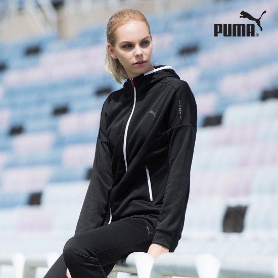 [PUMA]푸마여성 액티브 트랙수트 블랙 NFYYFH04