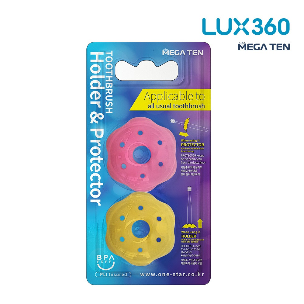 [비바텍] 럭스360 프로텍터&홀더 2P