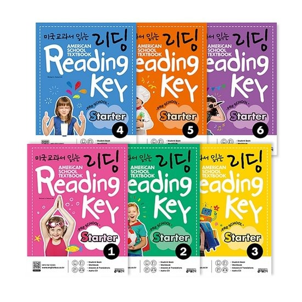 미국교과서 읽는 리딩 Reading Key Preschool Starter 1~6 세트 전6권