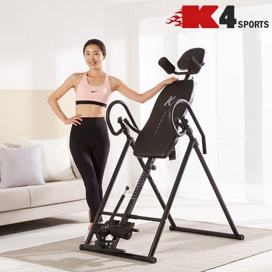 K4스포츠아몸디 허리운동 스트레칭 거꾸리 블랙 K306
