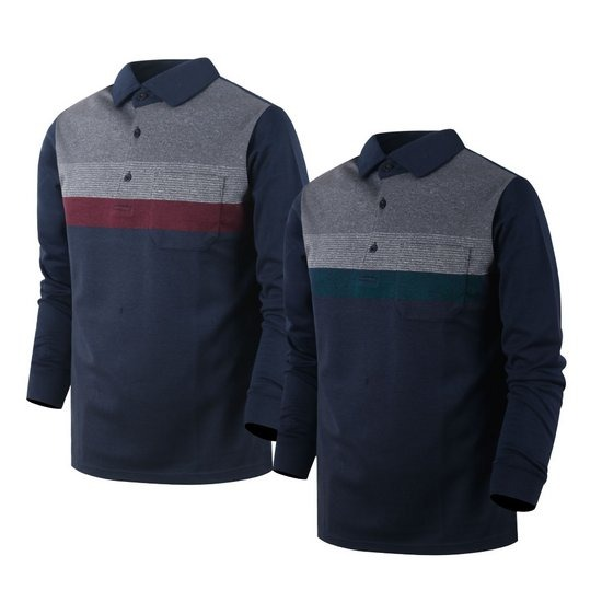 남성 골프웨어 긴팔 카라티셔츠 골프티셔츠 OXLT012