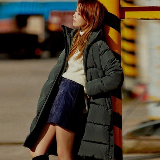 Ce&Tae Yong 여성 덕다운 롱점퍼