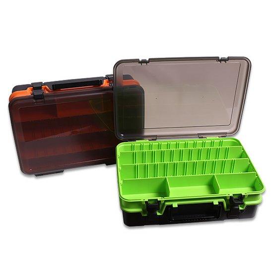 케이포피싱 다용도 2단 태클 박스 낚시용품 태클가방
