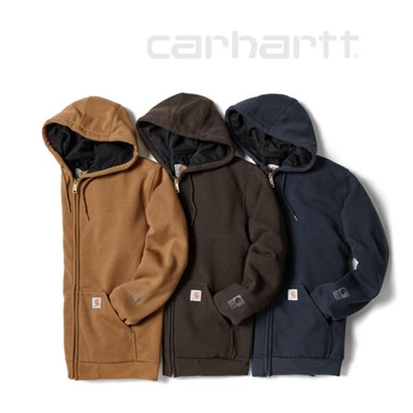 [하프클럽/Carhartt]100632 써멀 후드 집업 5종택일