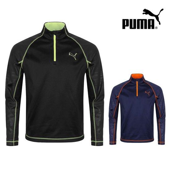 푸마 FW 롱슬리브 남성 하이넥 티셔츠 572149골프웨어