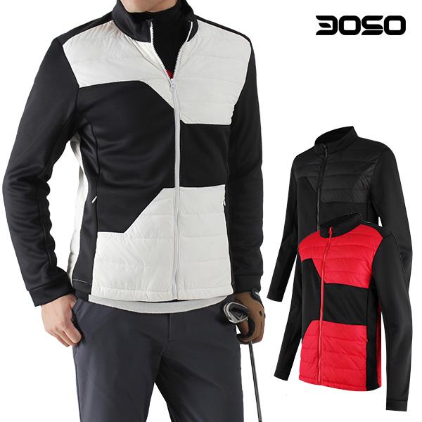 남성 골프웨어 겨울 경량 오리털 골프패딩바람막이 남자 골프복자켓