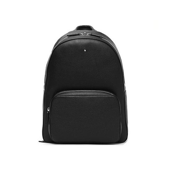 MONTBLANC 몽블랑 113950 마이스터스튁 소프트 그레인 백팩 블랙