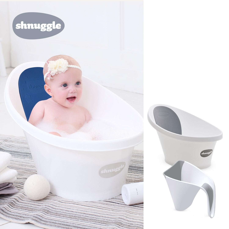 [슈너글] 아기 욕조 2종세트_욕조+샴푸컵