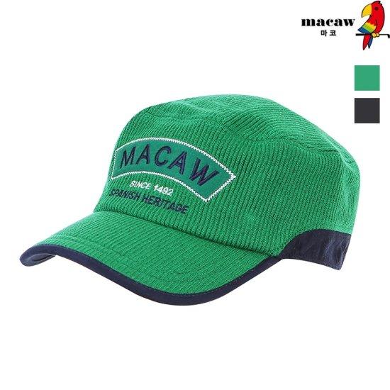 [MACAW] 패치 배색 캡모자 4MDM4CP01