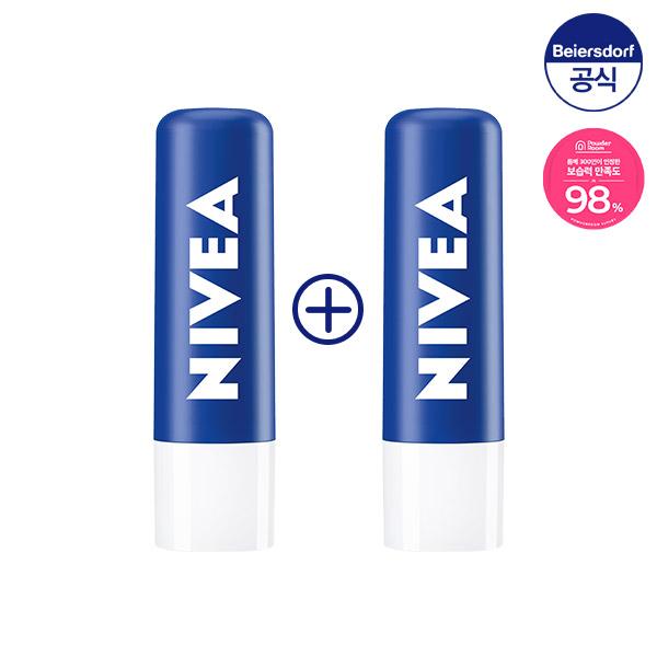 니베아 립케어 에센셜 케어 4.8g 1+1