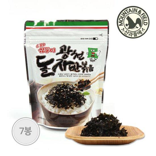 [산과들에] 김자반 40g x7봉 /광천 돌자반볶음