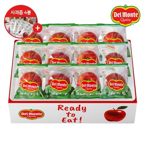 [델몬트]껍질째먹는 정품 세척사과 2.5kg/3.5kg +사과즙 4봉증정
