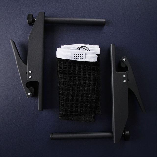 엑시옴 탁구 지주네트세트 N5 (블랙)