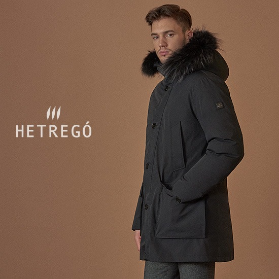 [MADE IN ITALY]HETREGO 직수입 남성 JAGO military 구스다운