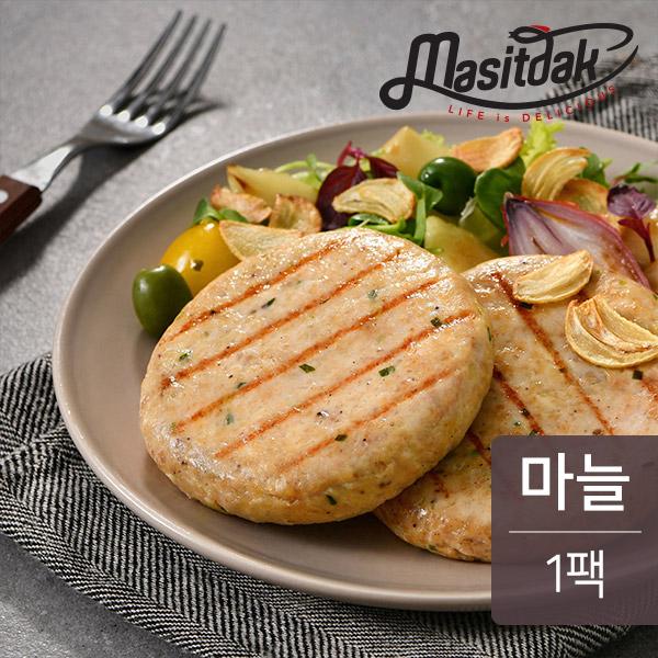 맛있닭 닭가슴살 스테이크 갈릭맛 100gX1팩