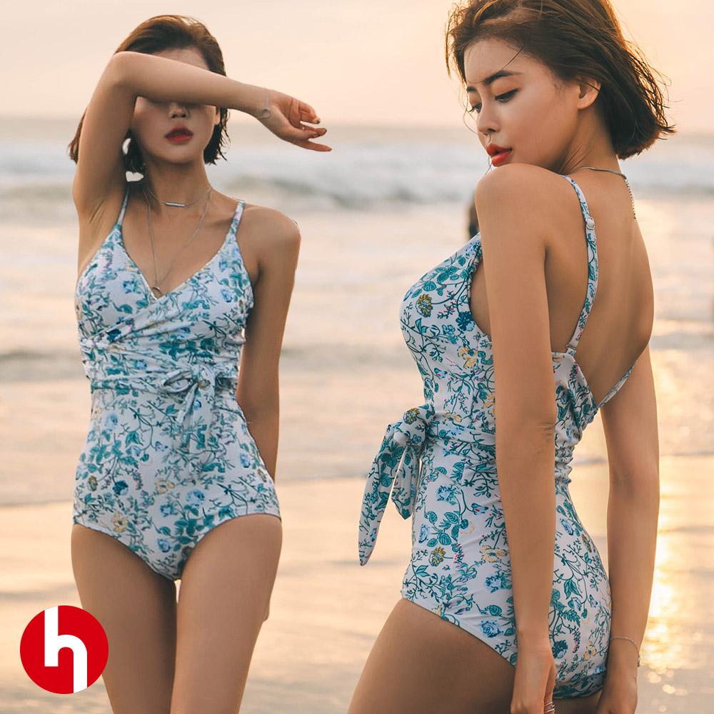 여성 비키니수영복 랩 모노키니 비치웨어 C704