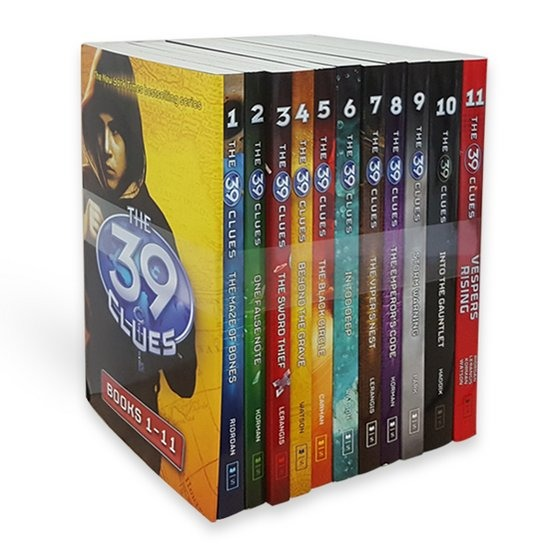 [영어원서] The 39 Clues Collection 11 Books Set Pack Paperback, 영국판