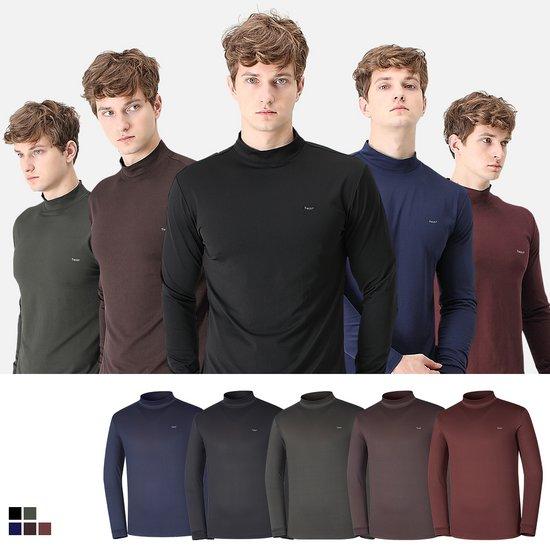남성 겨울 기모 폴라 티셔츠 ET101