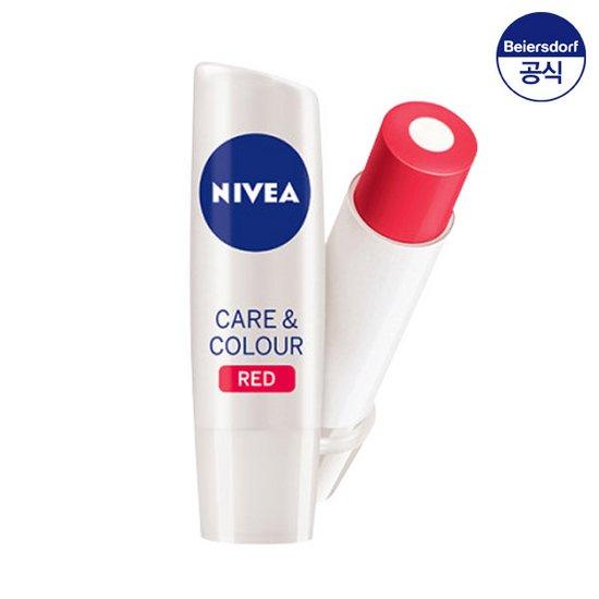 니베아 립케어 컬러 앤 컬러 레드 4.8g