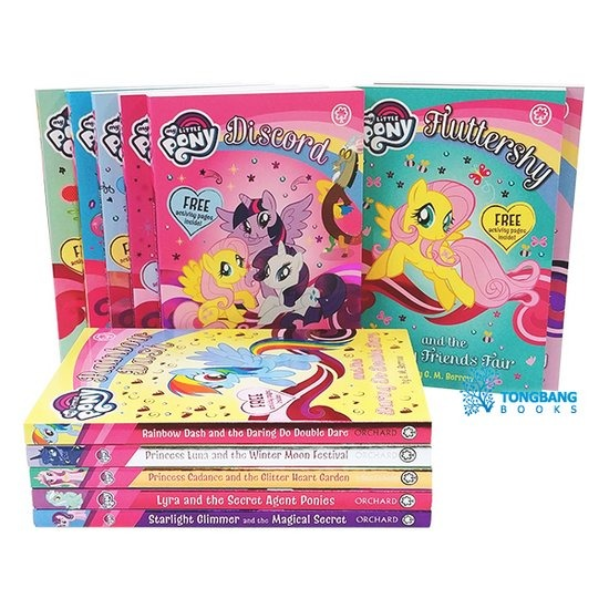 [영어원서] New My Little Pony Collection 12종 세트