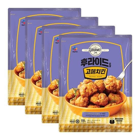 고메치킨 순살크리스피 550gX4개