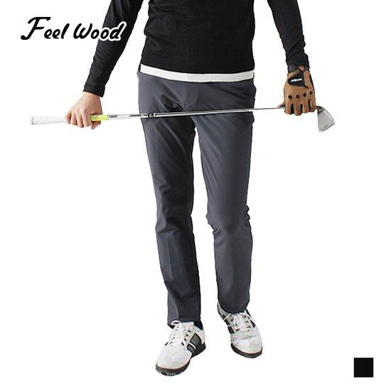 필우드 골프웨어 남성 고신축성 가을/겨울 사방스판 골프바지/WFDB/삼공오공Golf