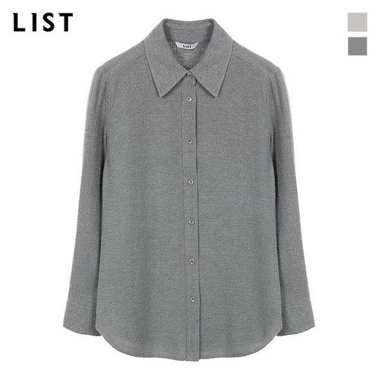 [리스트]소프트 터치 버튼다운 코튼 셔츠_TWWSTI80070
