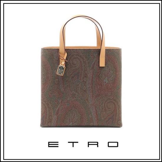ETRO 스퀘어 토트백 01808-8010