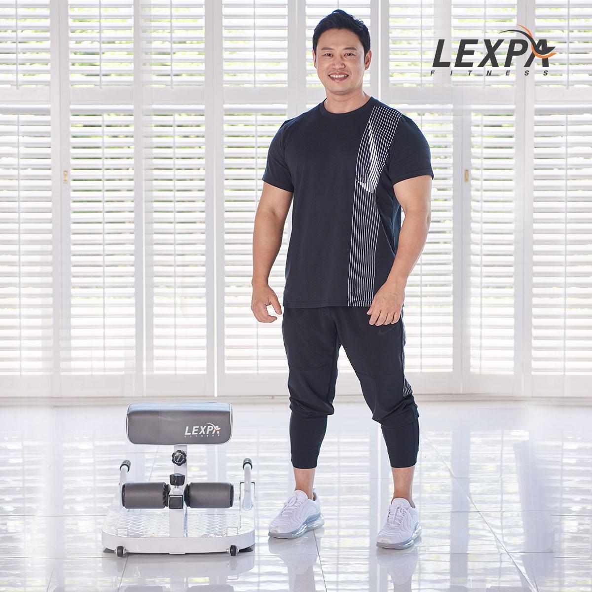 [렉스파]리퍼 스쿼트머신 YA-6400/로만체어