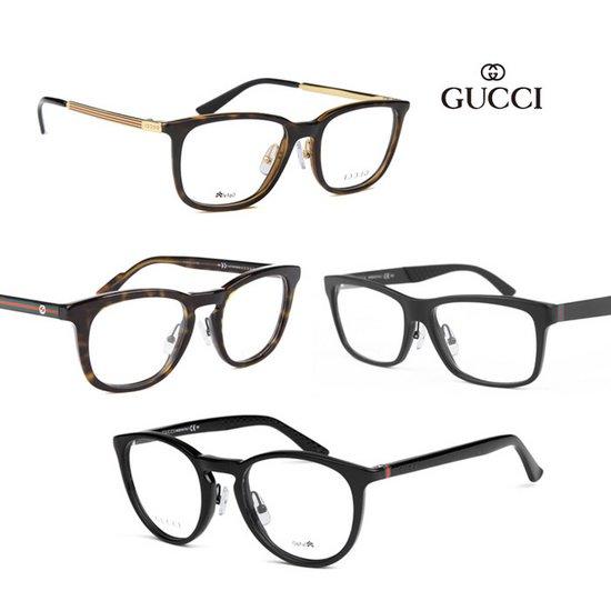 [특별제작 코받침] 구찌 名品 안경테 15종