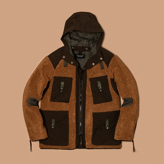 [EASTLOGUE] TRAVELER JACKET LIGHT BROWN 이스트로그 샌프란시